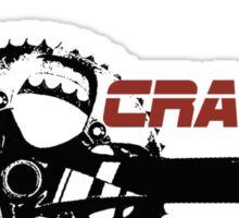 Cycling T Shirt - Crank Addict Sticker