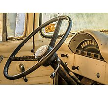 '56 Ford F100 Interior Photographic Print