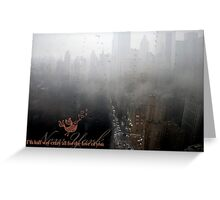 New York I Love You Greeting Card