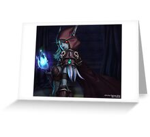 Sylvanas Windrunner Greeting Card