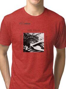 Cycling T Shirt - No Chain - No Pain - No Gain Tri-blend T-Shirt