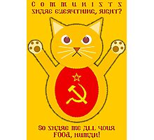 Comrade cat Photographic Print