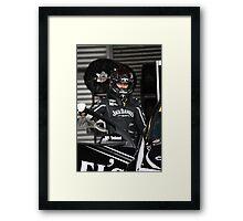 Jack Daniels Racing -2011 Framed Print