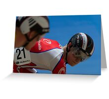 Matthew Glaetzer - Mens Sprint Greeting Card