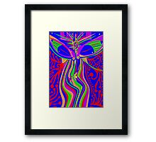 Transcendence Evolution Framed Print