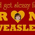 I&#x27;d get sleazy for Ron Weasley by apye