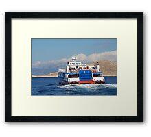 Dodekanisos Express, Halki Framed Print
