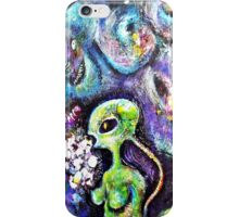 The Female from Mars iPhone Case/Skin