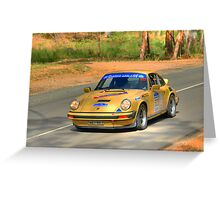 Porsche 911 - 1974 Greeting Card
