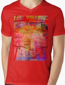 the city 35b Mens V-Neck T-Shirt