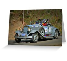 Chrysler Roadster 77 Greeting Card