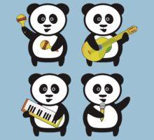 Band of pandas Kids Tee