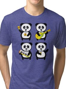 Band of pandas Tri-blend T-Shirt