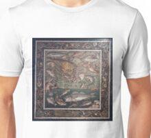 Marine Scene with Fish mosaic  Unisex T-Shirt