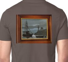 GEORGE E LEE FISHING BOAT AND COOS HEAD LIGHTHOUSE Unisex T-Shirt