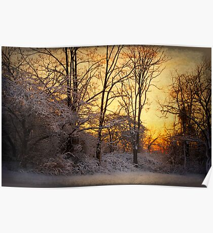 Once Upon a Winter Morning.. Poster