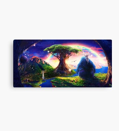 Ori and the Blind Forest Canvas Print