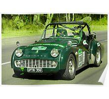 Triumph TR3 A 1959 Poster