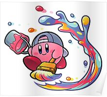 Kirby's painting Poster