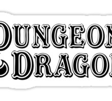 Dungeons & Dragons Sticker