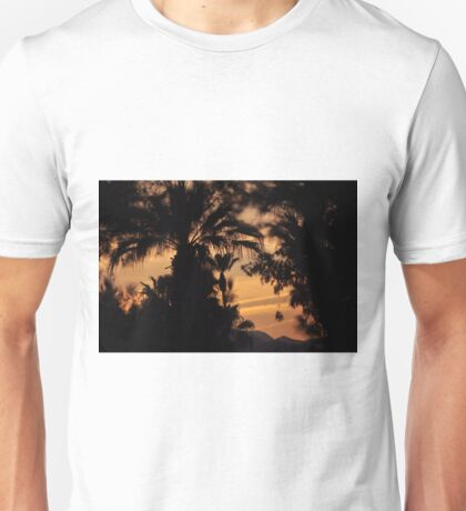 MYSTIC SUNSET OVER THE DESERT Unisex T-Shirt