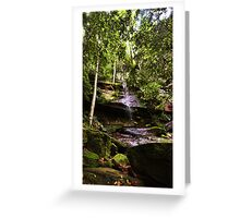 Strickland Falls, Central Coast NSW Greeting Card