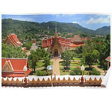 Thai Monestaries Poster
