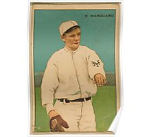 Benjamin K Edwards Collection Richard Marquard New York Giants baseball card portrait Poster