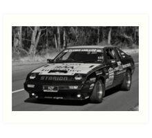 Mitsubishi Starion Turbo - 1981 Art Print