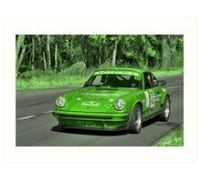 Porsche Carrera - 1977 Art Print