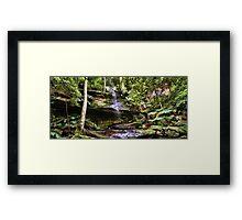 Strickland Falls, Central Coast NSW Framed Print