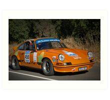 Porsche 911 Carrera - 1970 Art Print