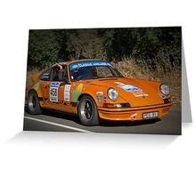 Porsche 911 Carrera - 1970 Greeting Card