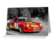 Porsche 911 Carrera RS - 1974 Greeting Card