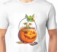halloween pumpkin dragon cute Unisex T-Shirt