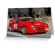 Porsche 924 GTS - 1981 Greeting Card