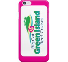 Green Island Cruises - Pink iPhone Case/Skin