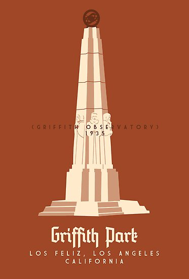 Griffith Park: The Observatory by Sam Novak