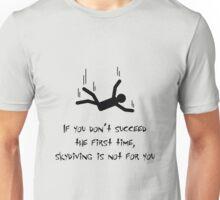 SKYDIVING (black) Unisex T-Shirt