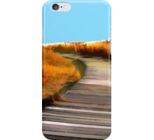 *Abstract Beach Dune Boardwalk* iPhone Case/Skin
