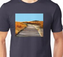 *Abstract Beach Dune Boardwalk* Unisex T-Shirt