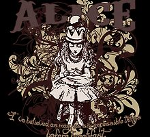 Queen Alice Carnivale Style by Sally McLean