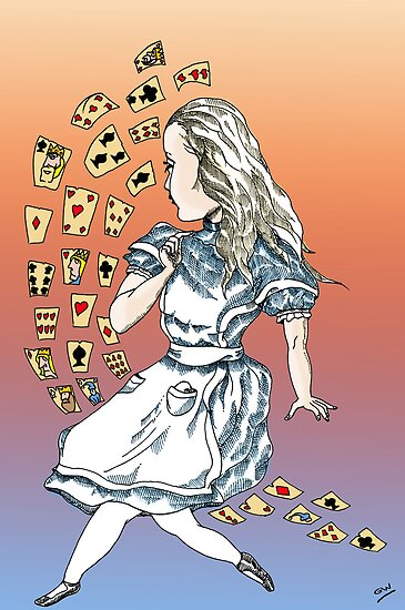 Alice and Cards part one by Grant Wilson