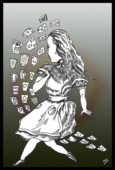 Alice and Cards part two by Grant Wilson