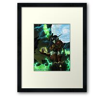 Night Elf Rogue Framed Print