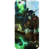Night Elf Rogue iPhone Case/Skin