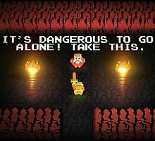 Zelda go alone by TwitchMerch