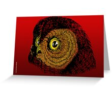 WHOO! ME? Greeting Card