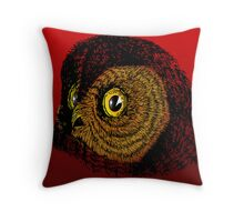 WHOO! ME? Throw Pillow