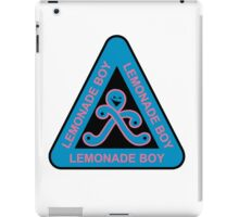 Lemonade Boy iPad Case/Skin